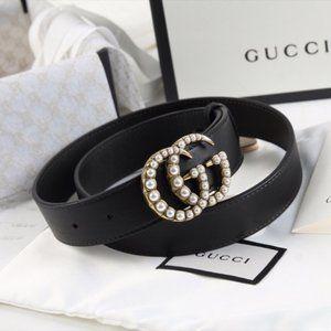 🌟NWT Fashion Pearl Belt length 85 By Gucci